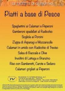 Ricette con pesce guerrino maculan videoricette dvd for Gamberoni in umido